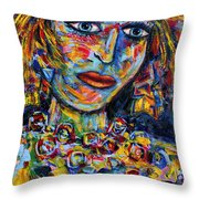 Secret Thoughts Throw Pillow