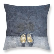 Secrets Of The Banker's Suit Throw Pillow