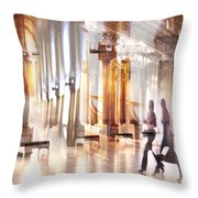 Secrets Of The Hermitage. Throw Pillow