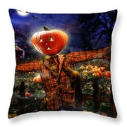 Secrets Of The Night Throw Pillow