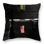 Secrets Of The Patriot Throw Pillow by Wayne King