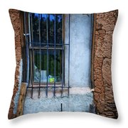 Secured Throw Pillow