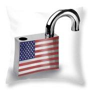 Security Throw Pillow