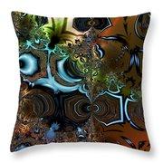 Sedimentary Throw Pillow