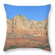 Sedona  Arizona  Mountain  Four Throw Pillow