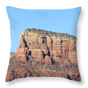 Sedona  Arizona  Mountain  Three Throw Pillow