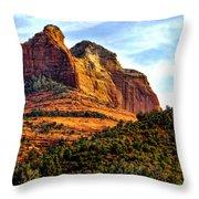 Sedona Arizona V Throw Pillow
