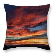 Sedona Az Sunset 1 Throw Pillow