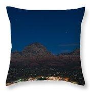 Sedona By Night Throw Pillow