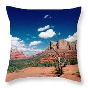 Sedona Desert Scene Throw Pillow