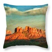 Sedona Evening Throw Pillow