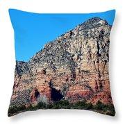 Sedona Landscape 031015aba Throw Pillow