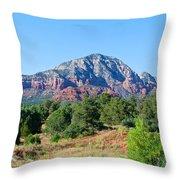 Sedona Mountains 15 Throw Pillow