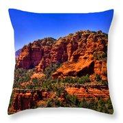 Sedona Rock Formations IIi Throw Pillow