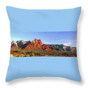 Sedona Rocky Cathedral Throw Pillow