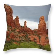 Sedona Sandstone Throw Pillow