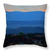 Sedona Sunset Throw Pillow
