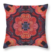 Seduction In Red 1 - The Joy Of Design X X V Arrangement Throw Pillow