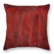 Seductive Embrace- Marsala Art Throw Pillow