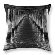 See Forever From Here Throw Pillow