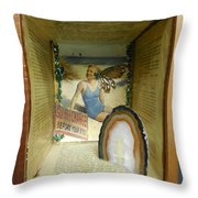 See Her Change Throw Pillow