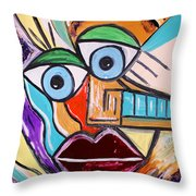 See It Positive Throw Pillow
