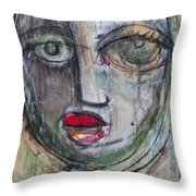 See Me  Throw Pillow