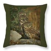 See No Evil - Hear No Evil - Speak No Evil Throw Pillow