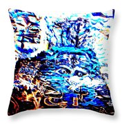 See The Sea Trolls Diving Deep Down Where They Can't Be Seen Anymore  Throw Pillow