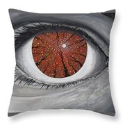 See The Symphony Throw Pillow