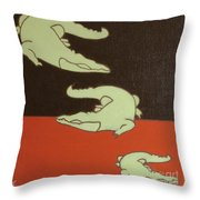 See You Later Alligator... Throw Pillow