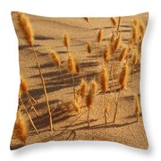 Seed And Sand Throw Pillow