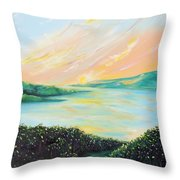 Seeded Spirit Throw Pillow by Meaghan Troup