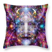 Seeing In A Sacred Manner Throw Pillow