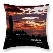 Seek The Lord Throw Pillow