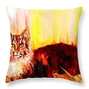 Seeker Of The Unknown Throw Pillow