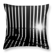 Seeking The Lines Throw Pillow