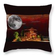 Seeking Wisdom Throw Pillow