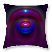 Seer Crystal Throw Pillow