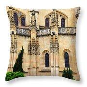 Segovia Cathedral Throw Pillow