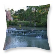 Seguin Tx 02 Throw Pillow by Shawn Marlow