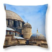 Sehzade Mosque 02 Throw Pillow
