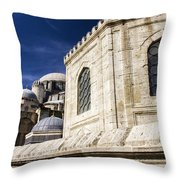 Sehzade Mosque Istanbul Throw Pillow
