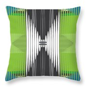 Seismic Rug Throw Pillow