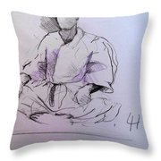 Seiza Throw Pillow