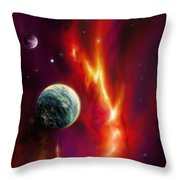 Seleamov Throw Pillow by James Christopher Hill