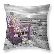 Selective Throw Pillow by Betsy Knapp