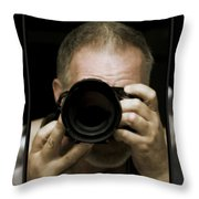 Self - Portrait 3 Throw Pillow