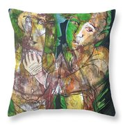 Self And Other Throw Pillow