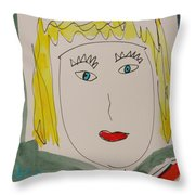 Self I See October 12 Throw Pillow